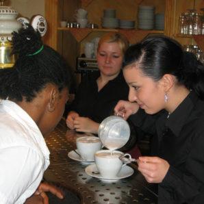 Ausbildungsrestaurant Kaffee